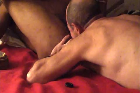 engulfing and rimming a hung 21yo model