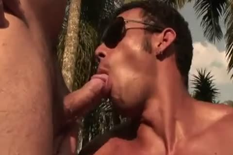 Ricco Puentes Poolside chocolate hole hammering