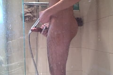 Me, stroking In The Shower