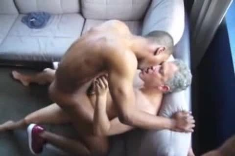 darksome homosexual lad banged By Two Ultimate whores