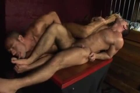Two chaps nail naked