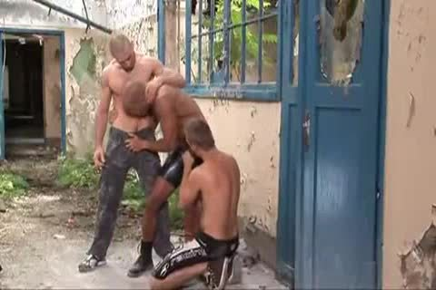 naughty Outdoor three-some