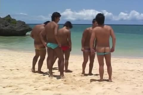 Two oriental homo boyz 10-Pounder engulfing And anal plowing