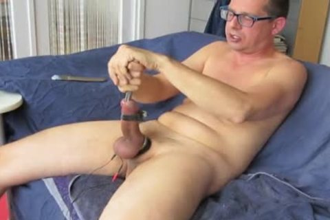 Short Edit Of The Vid '17mm Loadblocker In My penis, Balls Vibrating'. Sounding Vid.