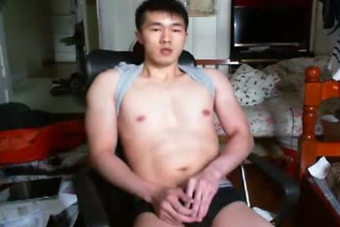A sleazy Chinese Hand Job In web camera