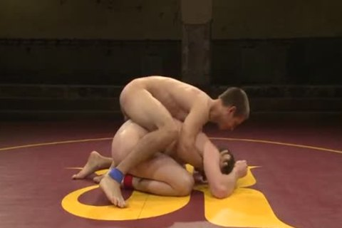 Sebastian Keys And Jacques Lavere Wrestle in nature's garb