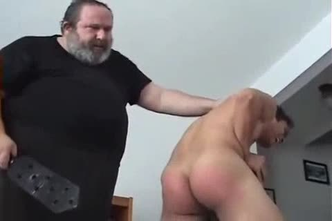 Very sexy lad Spanked
