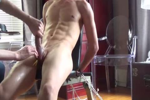 I Think I Have A new boy!  twenty one Year old chap And he likes Sir Training His penis For Him.   ;) This Is Footage From A 90 Minute Training Session, And finally At The End I Let That nice-looking knob Of His Explode
