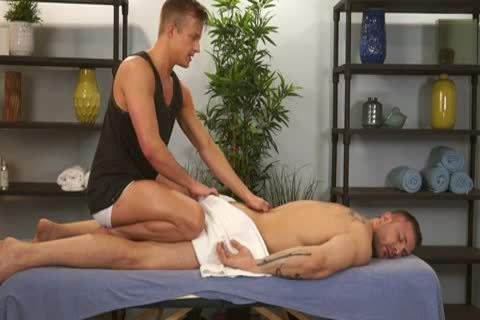 Austin Wolf And Skylar West In A lascivious homo Porn Massage