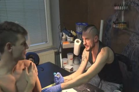 enchanting Sex For cash In A Tattoo Studio
