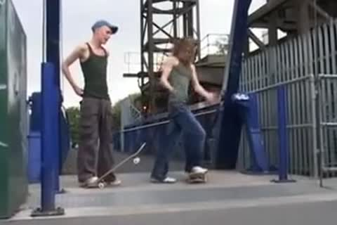 long Haired Skater acquires Dicked