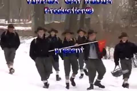 Scouts On Winter Camp