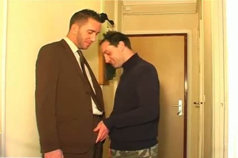 Full clip scene: A blameless Vendor dude Serviced His large schlong By A dude!