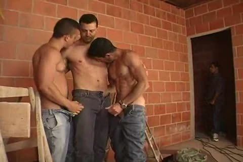 tasty homo dudes Threeway sucking