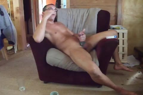 wanking on chair
