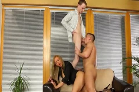 fine Bisexuals boning With A blonde