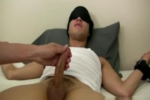 gay Sex video Tall guy in nature's garb Mr. Hand Preps Willy And I Can