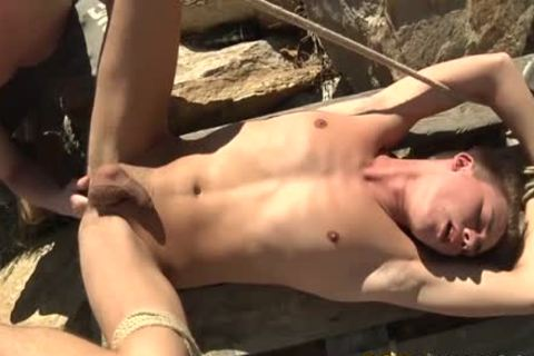 Sean receives really Physical With Justins Bumhole In An Outdoor Adventure