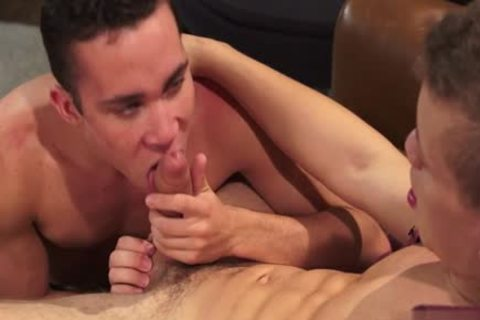 monstrous cock twink rimming And cum In wazoo