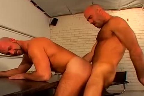 shaved oral gay Hunks coarse And raw ass drilling
