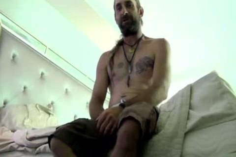 Tremendous Daddy Gargling And Licking bushy Hunks humongous rod HD Xrated Taped - SpankBang