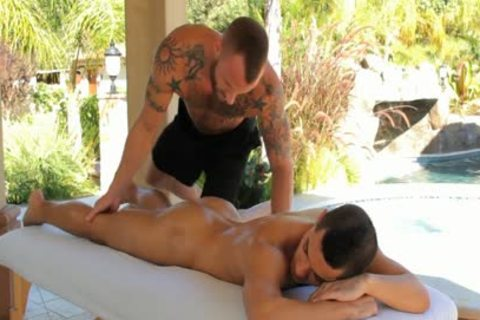 Derek Parker drills Ethan Slader At A homo Resort