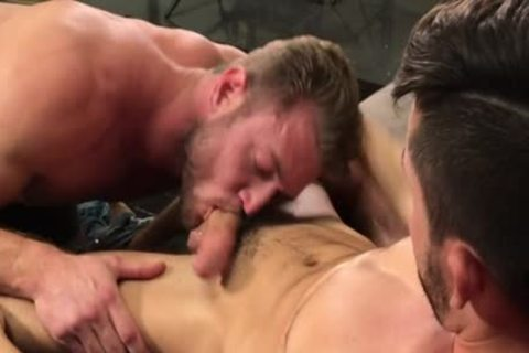 throbbing 10-Pounder lad butthole drilling With semen flow