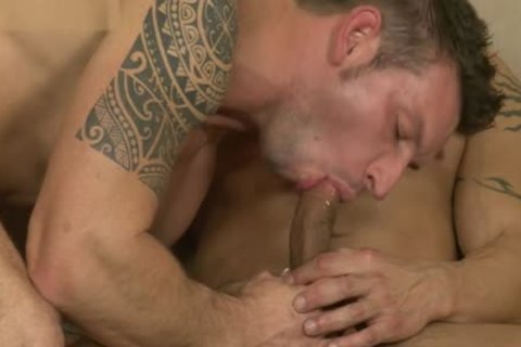 Latin homosexual males three-some And cumshot