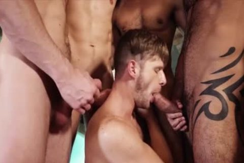 pretty gays 3some With cumshot