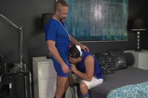 Muscly wang Rides trainer HD Smut Taped - SpankBang