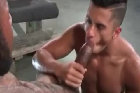 A Very cute Latino homo man Likes Some rough Greek From A throbbing African Shaft