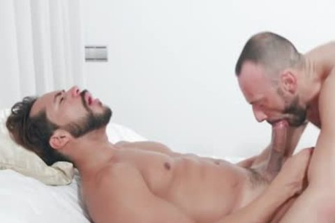 Muscle Son pooper job With Facial