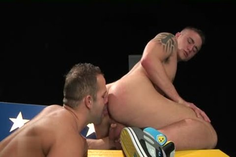 Muscle homosexual extraordinary nail And cumshot