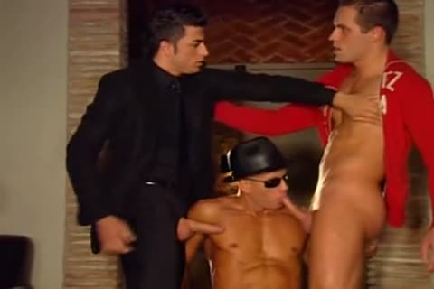 A Fit jock guy Is Getting Passanatly Anally fucked Firm And unfathomable From Two gay Father