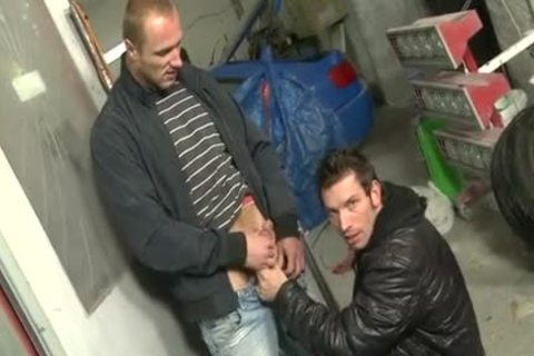 large pecker Daddy Public Sex And Facial