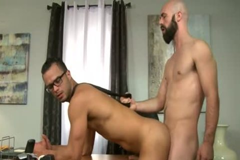 large cock Bear booty stab With cumshot
