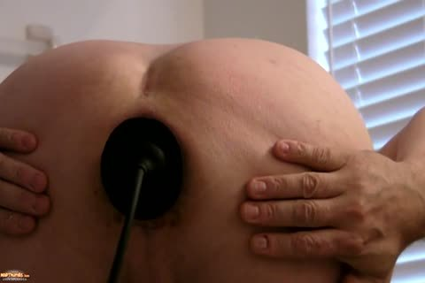Sissy Kristen Gaping butthole With monstrous Buttplug   And Various toys