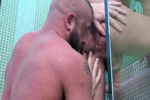Dirk Caber And Hunter Marx In Double Exposure