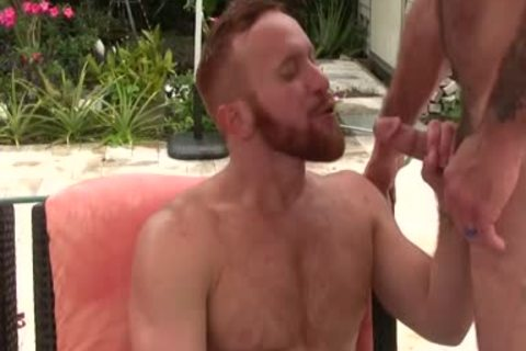 excited hairy dad fucks Ginger Sun - cum cum cum