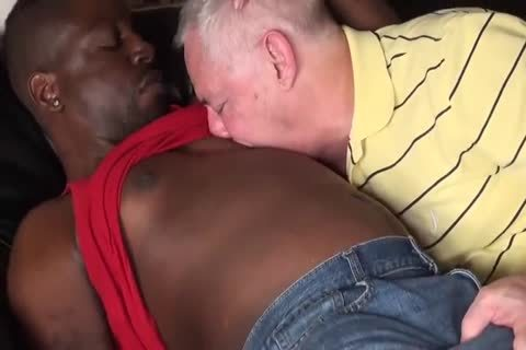 dark lad bangs old daddy bare
