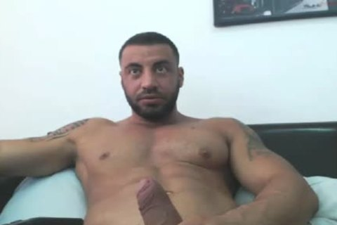 rock hard Arab Hunk Edging