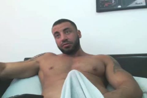 meaty Arab Hunk Edging