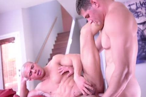 big rod gay painfully butthole sex With spooge flow