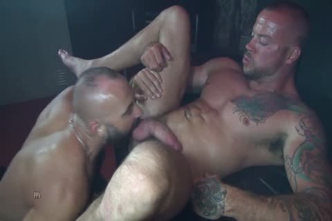Colin O'Neal And Sean Duran In Flip plow Bb Scene