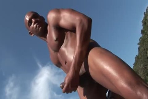 ebony boy receives fucked In The butthole Oin A Beach