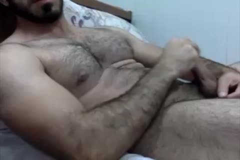 Iraqi charming Muscle best Face Cumshoot Ever