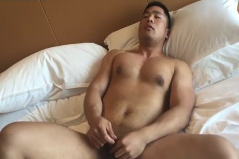 rock hard Wrestler jack off