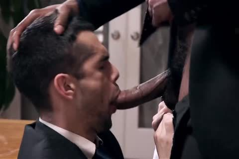 Giving Your black Boss A oral sex-stimulation And Getting Barebacked