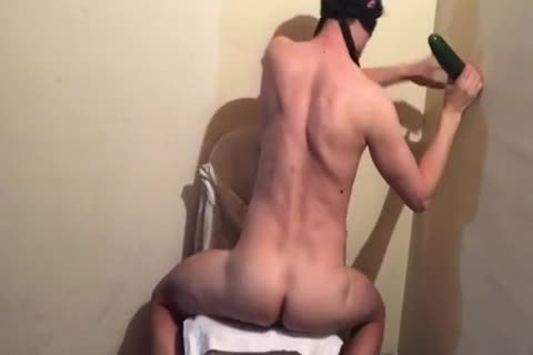 twink fucking By A big fake penis. bizarre Painfully Prostate agonorgasmos