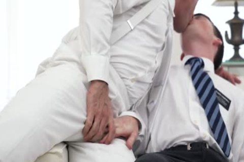 Ginger Bottom Passionately plowed raw By daddy Priest